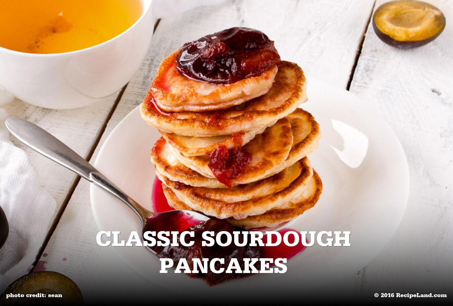 Classic Sourdough Pancakes
