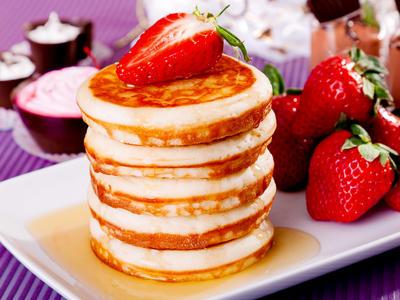 Cheesy Ricotta Cheese Pancakes