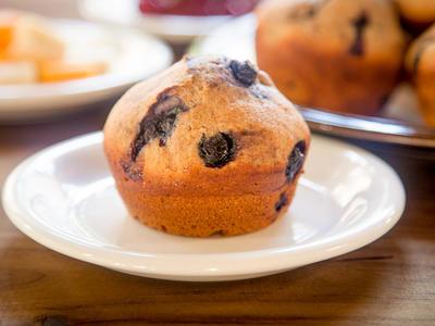 Alice's Blueberry Bran Muffins
