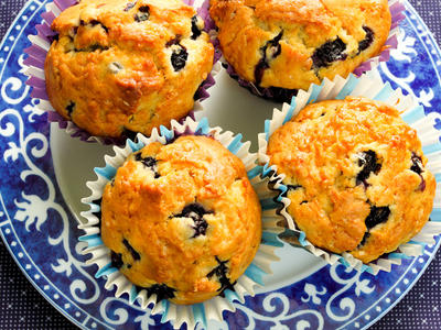 Sweetish Hill's Blueberry Muffins