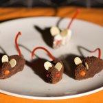 Halloween Chocolate Mice