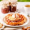 Best Sourdough Belgian Waffles