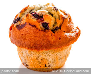 Super Blueberry Muffins