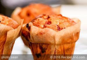 Breakfast Cranberry Orange Muffins