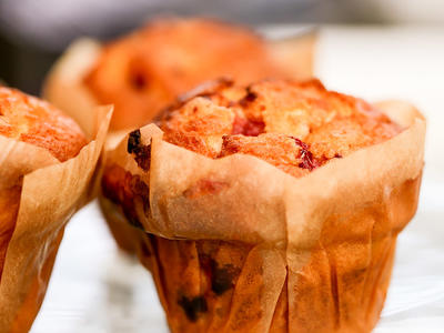 Breakfast Cranberry Orange Muffins