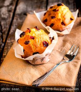Jumbo Cranberry Orange Muffins