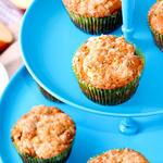 Apple Butter-Streusel Muffins