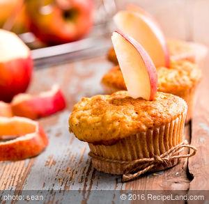 Apple Bran Spice Muffins