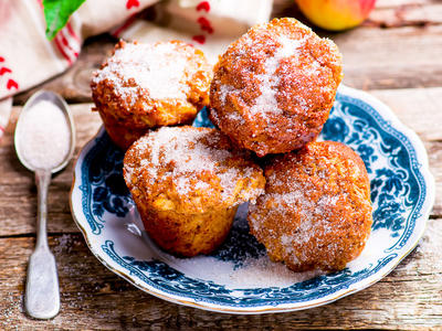 Apple and Cheddar Corn Muffins