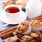 Apple Walnut Crumb Muffins