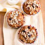 Cinnamon Raisin Apple Muffins