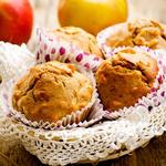 Whole Wheat Applesauce Cinnamon Muffins