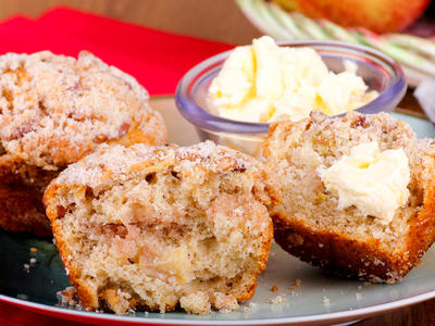 WW Apple Crumb Muffins