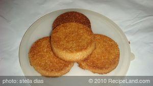 Homemade Sago Biscuits