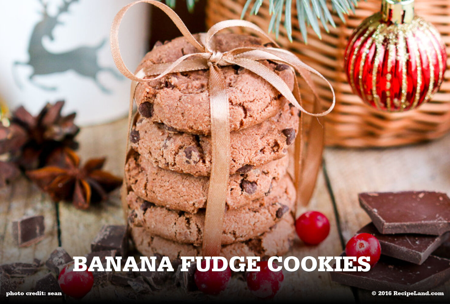 Banana Fudge Cookies