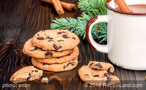 Big Soft Chocolate Chip Cookies