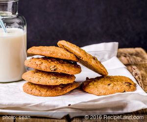 Chocolate Chip- Wheat Cookies