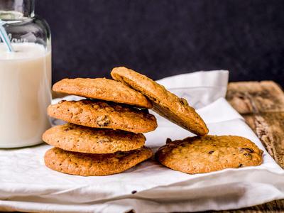 Chocolate Chip- Wheat Cookies