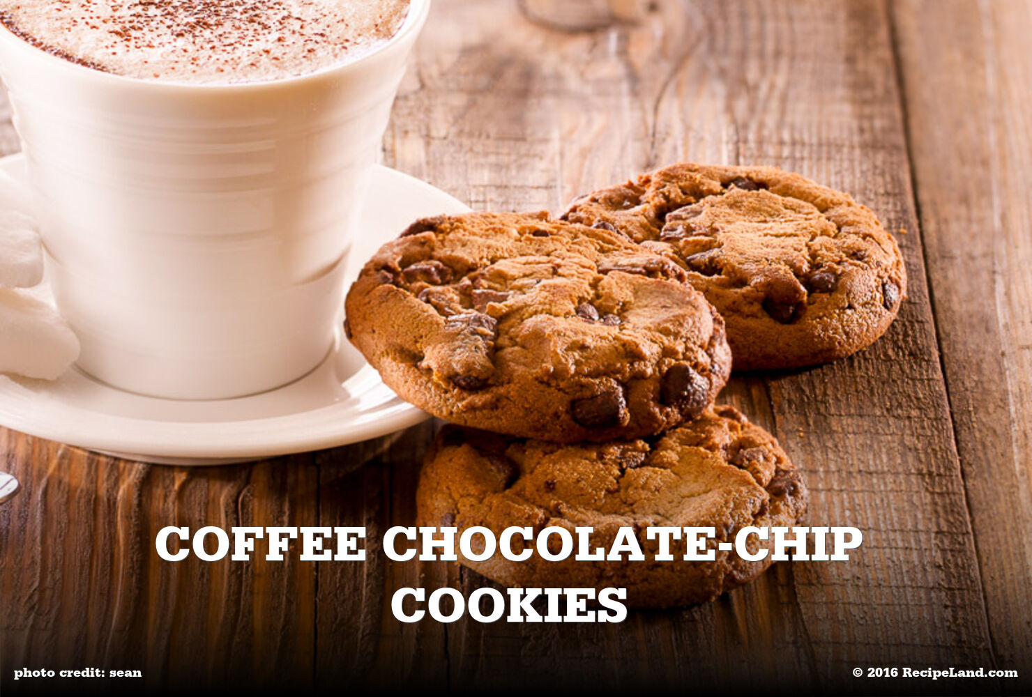 Coffee Chocolate-Chip Cookies