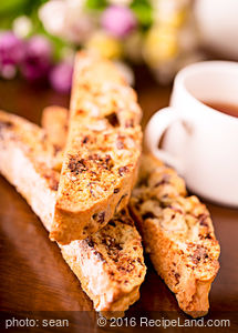 So Good Chocolate Nut Biscotti