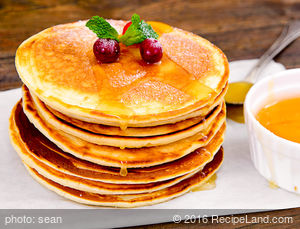 Yummy Honey Pancakes