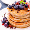 Healthy Whole Wheat Pancakes for One