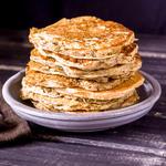 High-Fibre Apple Pancakes