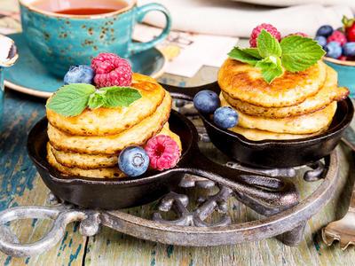 Union Pacific Applesauce Pancakes