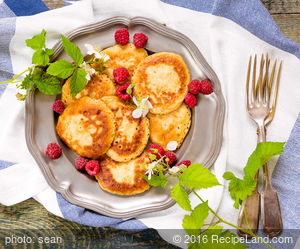 Swedish Breakfast Pancakes