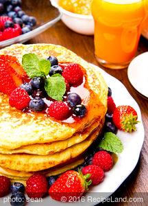 Wheat Free Healthy Pancakes