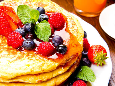 Wheat Free Healthy Pancakes
