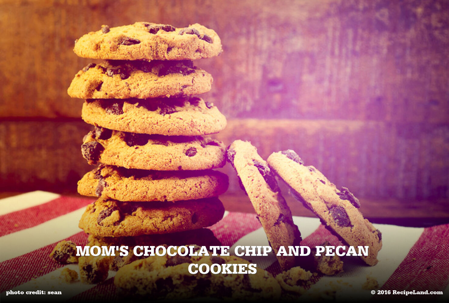 Mom's Chocolate Chip and Pecan Cookies