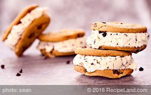Grooms Cake Ice Cream Sandwiches