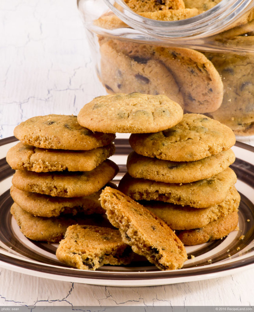 Mom's Low-Fat Chocolate Chip Cookies