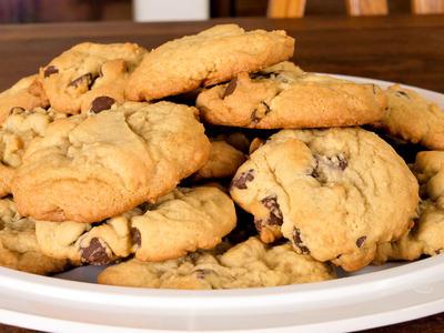 Tom's Applesauce Chocolate Chip Cookies