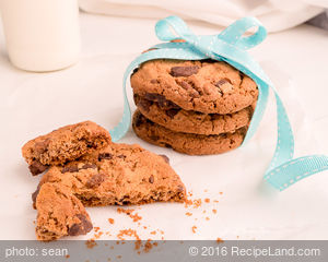 Mocha-Walnut Cookies