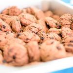 Chocolate Raisin Poppyseed Cookies