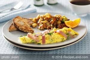 Easy Scrambled Eggs and Ham