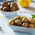Citrus Marinated Mushrooms