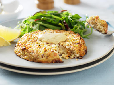 Hungry Girl Crab Cakes