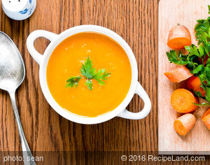 Spiced Carrot & Orange Soup