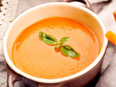 Spiced Sweet Carrot Soup