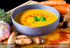 Bob's Curried Carrot Soup