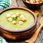 Mom's Cream of Broccoli and Pea Soup