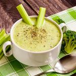 Favorite Garlic-Broccoli Soup