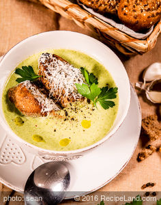 Hearty and Silky Broccoli Soup