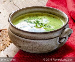 Buttery Broccoli Soup