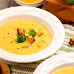 Broccoli Cheddar Beer Soup