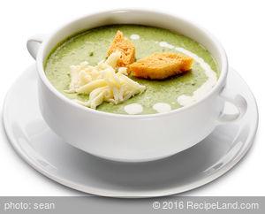 Swiss Broccoli Soup