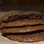 Low Fat Chewy Chocolate Cookies
